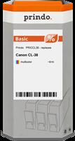 Cartucho de tinta Prindo PRICCL38