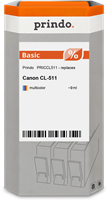 Cartucho de tinta Prindo PRICCL511