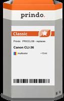 Cartucho de tinta Prindo PRICCLI36