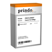 Cartucho de tinta Prindo PRICCLI526GY