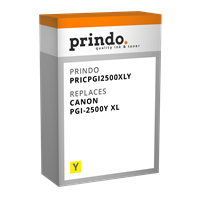 Cartucho de tinta Prindo PRICPGI2500XLY