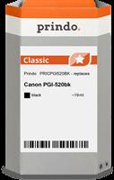 Cartuccia d'inchiostro Prindo PRICPGI520BK