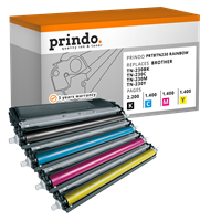 Value Pack Prindo PRTBTN230 Rainbow
