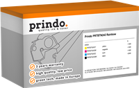 Value Pack Prindo PRTBTN242 Rainbow