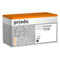 Prindo PRTBTN325BK+