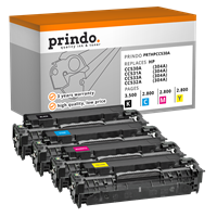 Value Pack Prindo PRTHPCC530A Rainbow