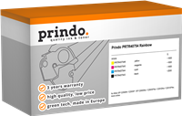 Value Pack Prindo PRTR40754 Rainbow