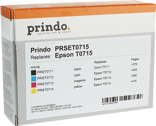 Prindo PRSET0715