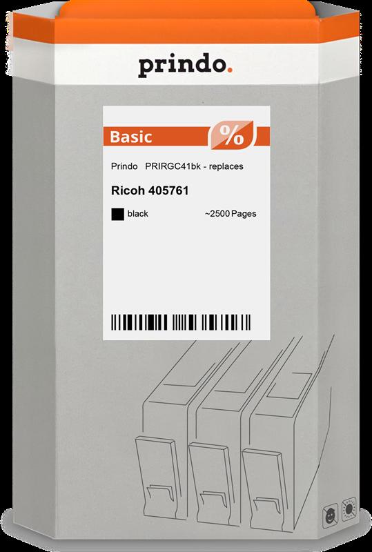 Prindo gel cartridge PRIRGC41bk zwart