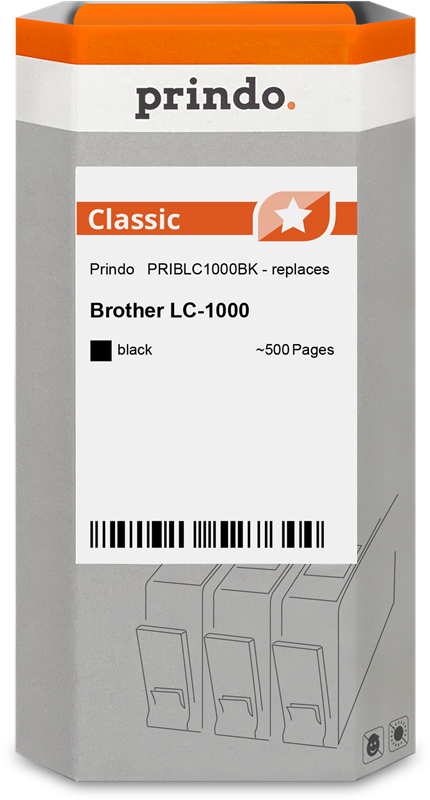 Cartouche d'encre Prindo PRIBLC1000BK