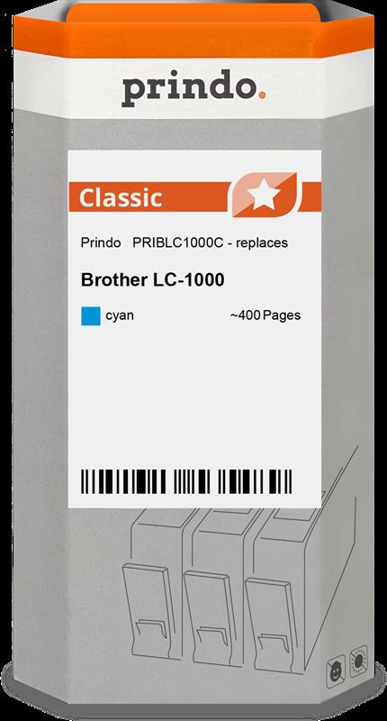 inktpatroon Prindo PRIBLC1000C