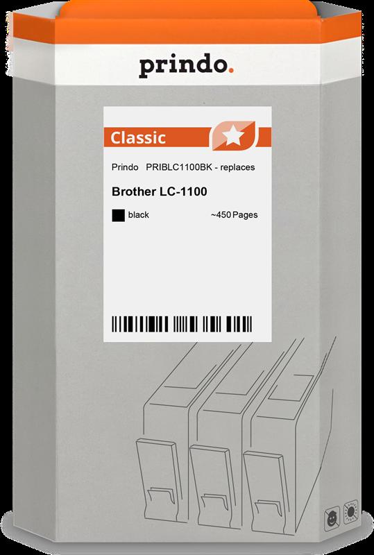 inktpatroon Prindo PRIBLC1100BK