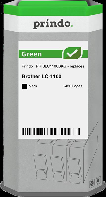 inktpatroon Prindo PRIBLC1100BKG