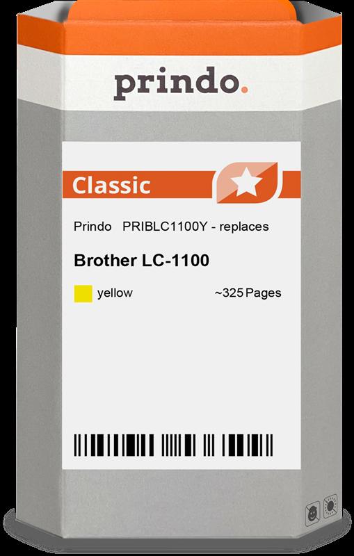 inktpatroon Prindo PRIBLC1100Y