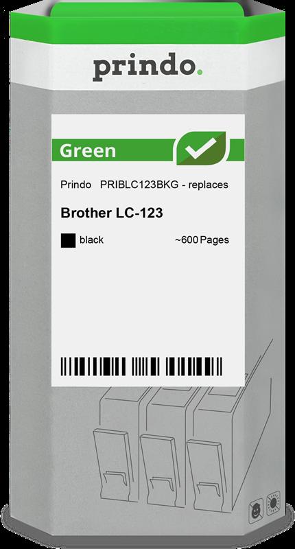 inktpatroon Prindo PRIBLC123BKG