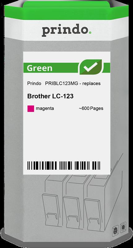 Cartucho de tinta Prindo PRIBLC123MG