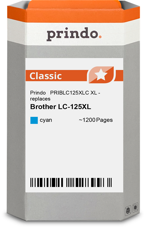 ink cartridge Prindo PRIBLC125XLC
