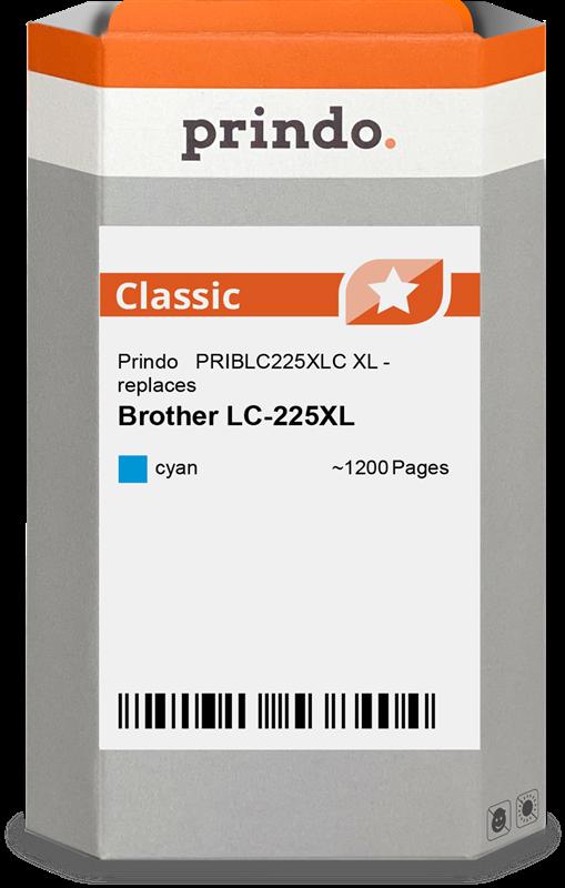 Cartouche d'encre Prindo PRIBLC225XLC