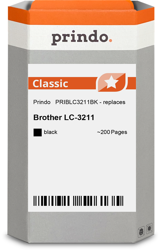 Cartouche d'encre Prindo PRIBLC3211BK