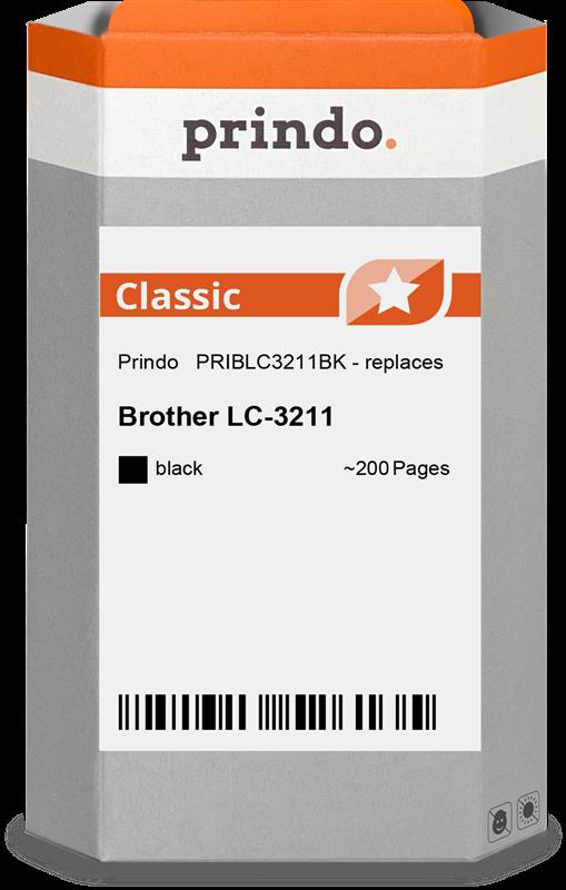inktpatroon Prindo PRIBLC3211BK