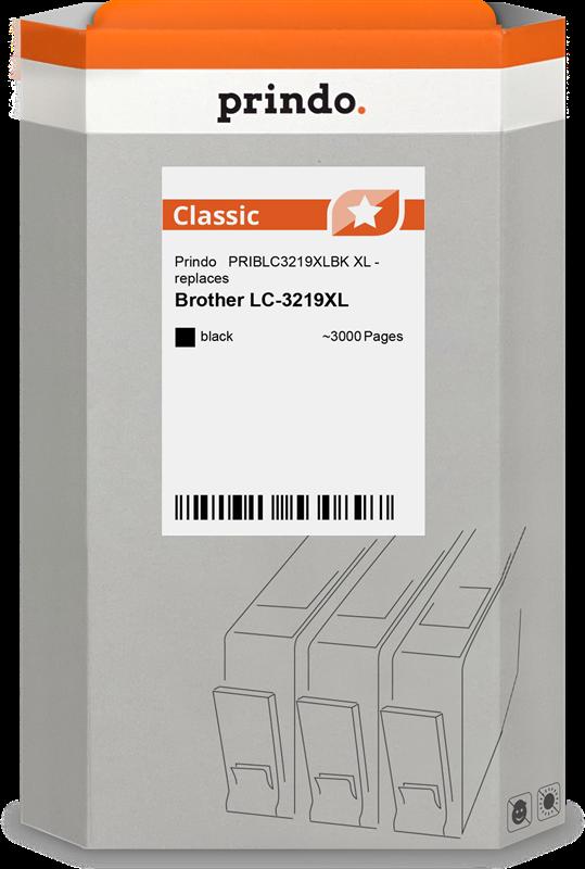 inktpatroon Prindo PRIBLC3219XLBK