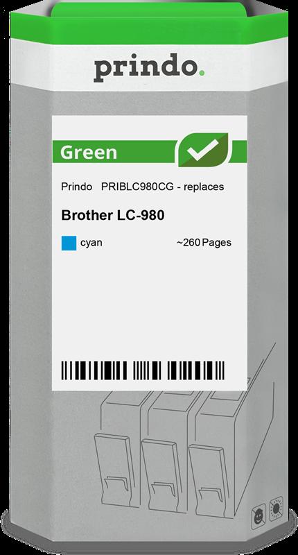Cartuccia d'inchiostro Prindo PRIBLC980CG