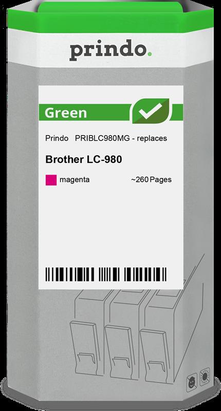 Cartouche d'encre Prindo PRIBLC980MG