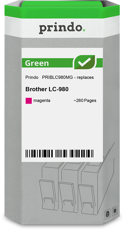 ink cartridge Prindo PRIBLC980MG