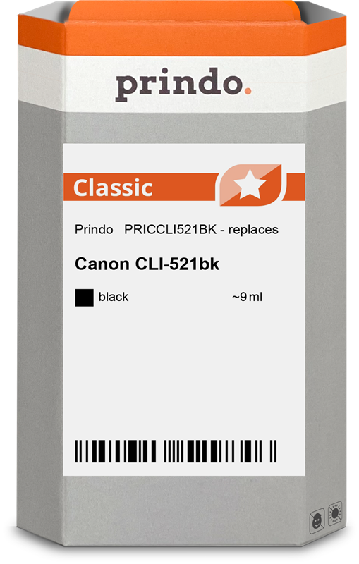 Druckerpatrone Prindo PRICCLI521BK
