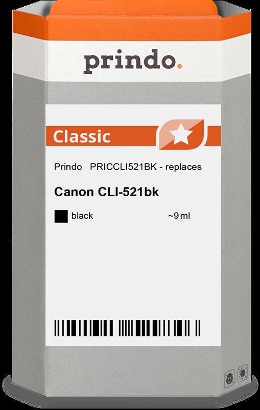 inktpatroon Prindo PRICCLI521BK