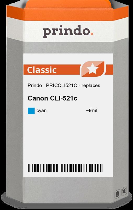 Druckerpatrone Prindo PRICCLI521C