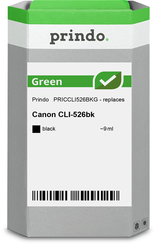 Druckerpatrone Prindo PRICCLI526BKG