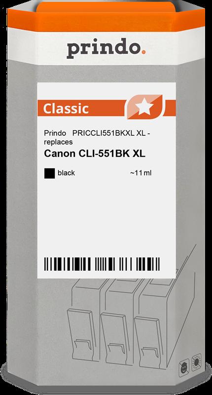 inktpatroon Prindo PRICCLI551BKXL