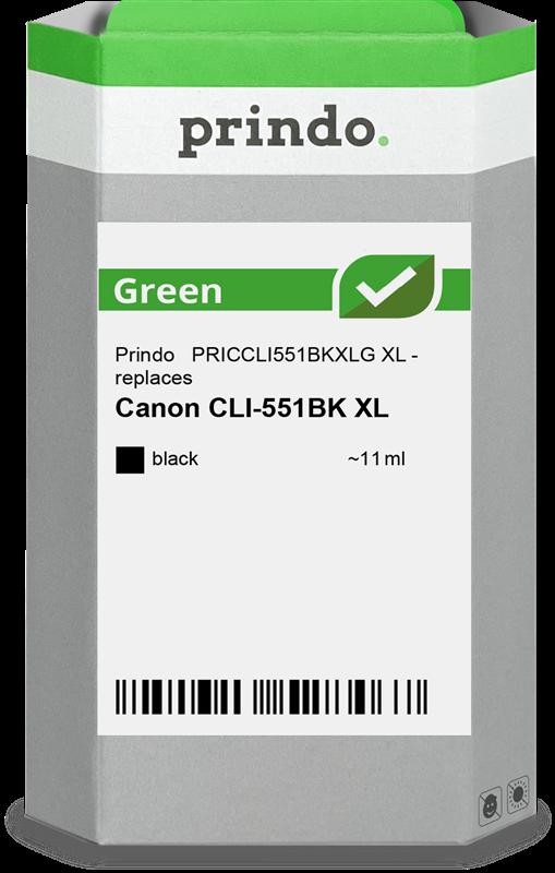 Cartuccia d'inchiostro Prindo PRICCLI551BKXLG