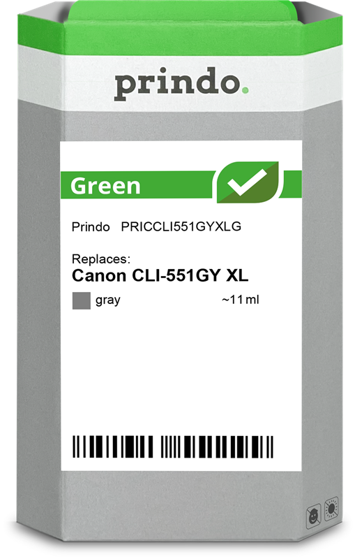 inktpatroon Prindo PRICCLI551GYXLG
