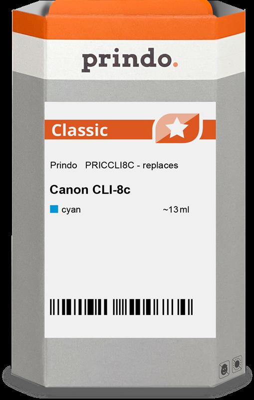 Cartouche d'encre Prindo PRICCLI8C
