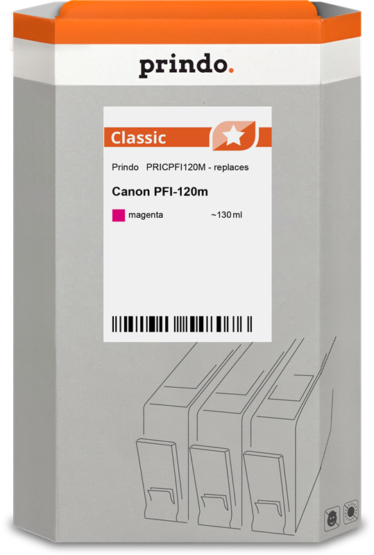 ink cartridge Prindo PRICPFI120M