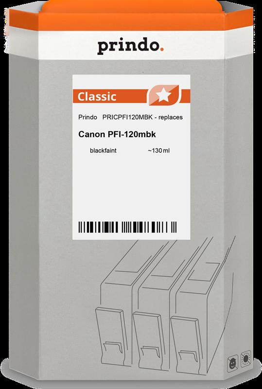 Cartuccia d'inchiostro Prindo PRICPFI120MBK