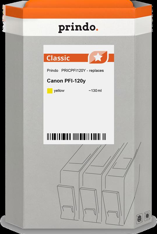 Cartuccia d'inchiostro Prindo PRICPFI120Y