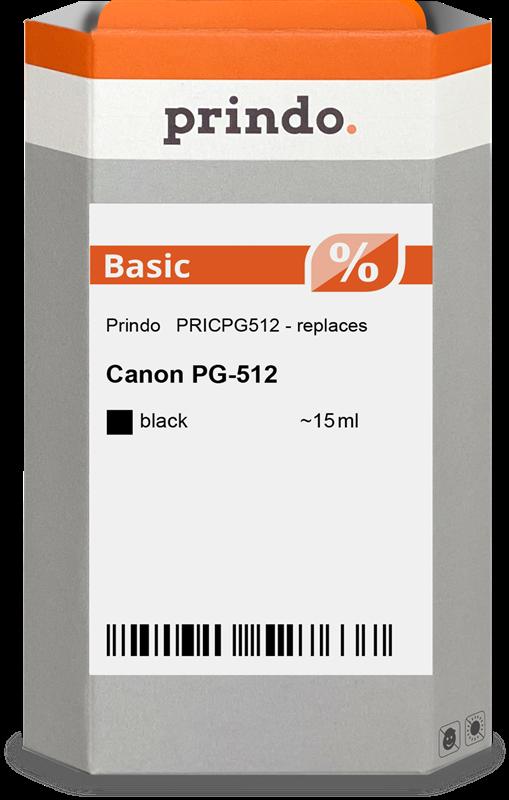 Cartuccia d'inchiostro Prindo PRICPG512