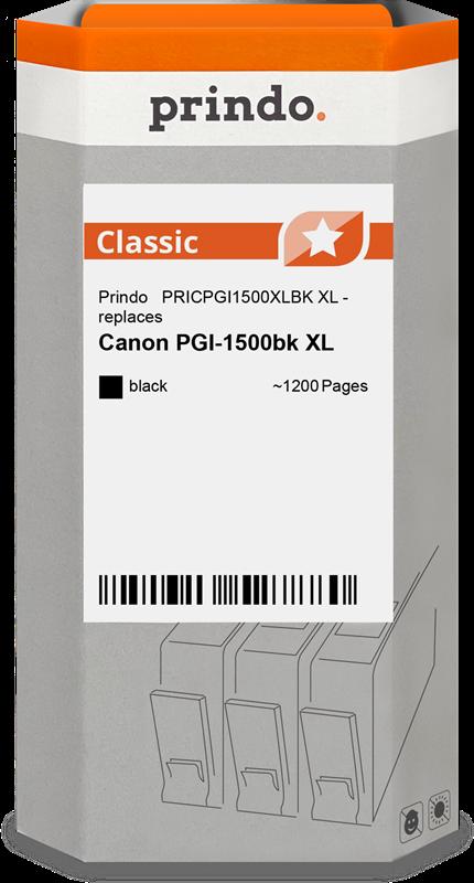 Cartouche d'encre Prindo PRICPGI1500XLBK