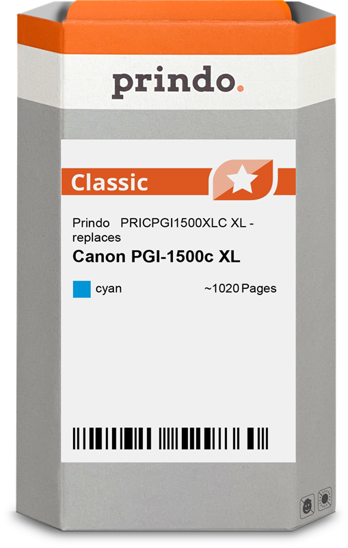 Druckerpatrone Prindo PRICPGI1500XLC