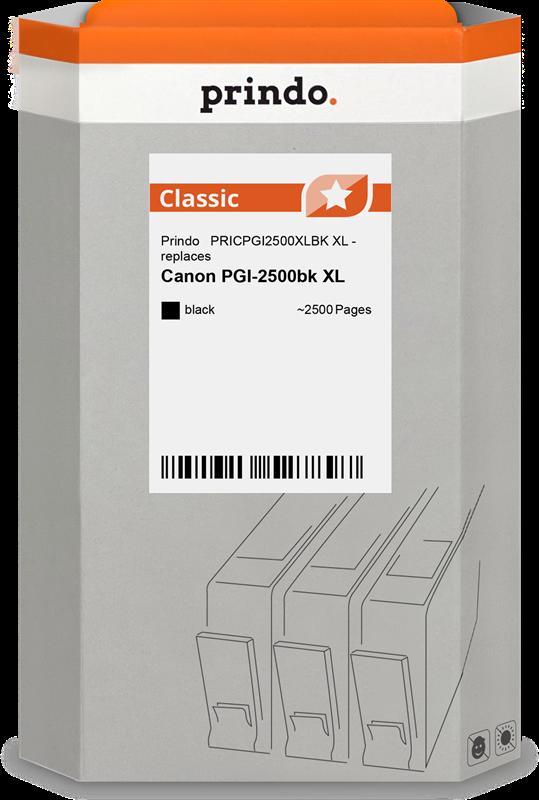 Druckerpatrone Prindo PRICPGI2500XLBK
