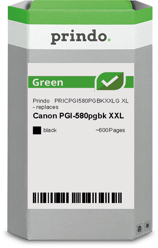 Cartuccia d'inchiostro Prindo PRICPGI580PGBKXXLG