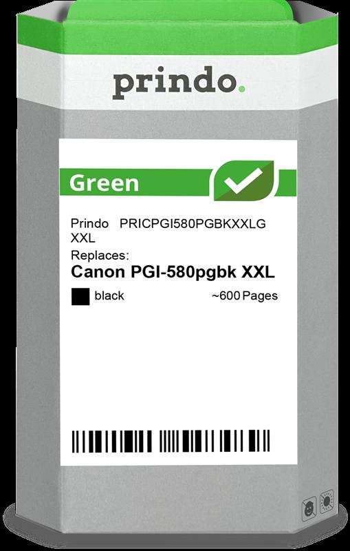 inktpatroon Prindo PRICPGI580PGBKXXLG