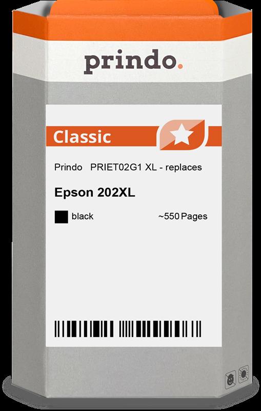 Cartouche d'encre Prindo PRIET02G1