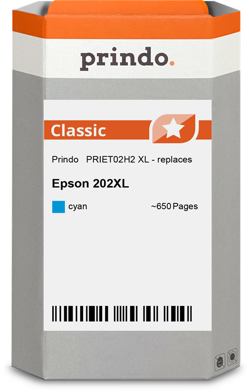 Druckerpatrone Prindo PRIET02H2