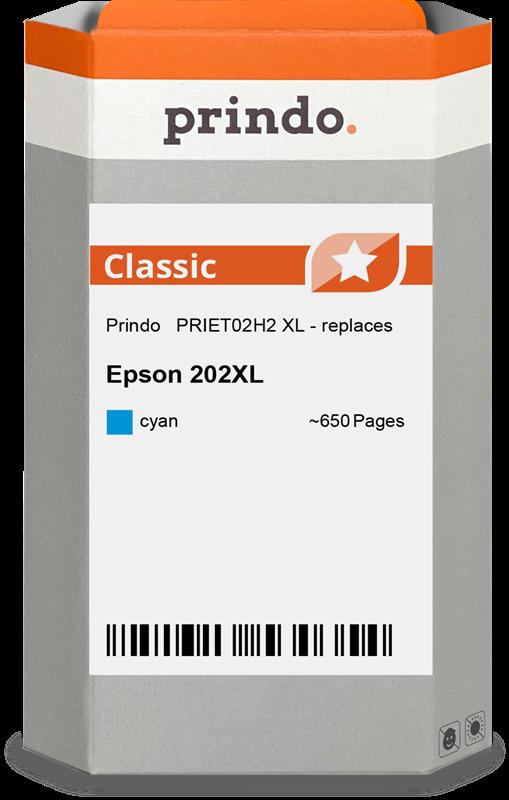 inktpatroon Prindo PRIET02H2