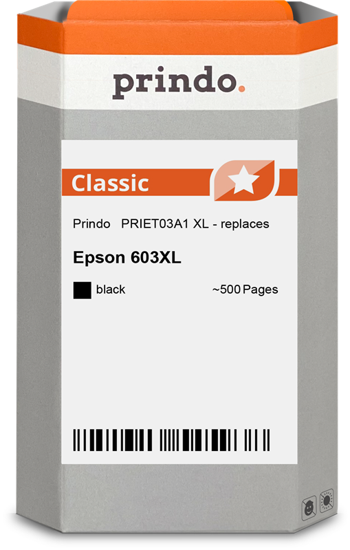 inktpatroon Prindo PRIET03A1