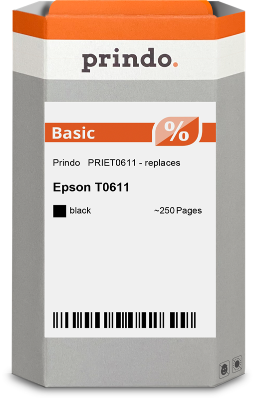 Cartuccia d'inchiostro Prindo PRIET0611